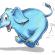 Nằm mơ thấy con voi rượt đuổi