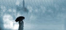 Nằm mơ thấy mưa lớn